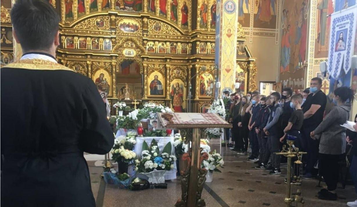 У Львові Поховали Хлопчика, Який Загинув На Шкільній Екскурсії