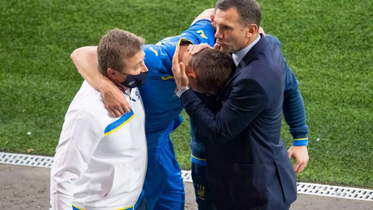 Бєсєдін більше не зможе грати на Євро-2020 та покинув розташування збірної України