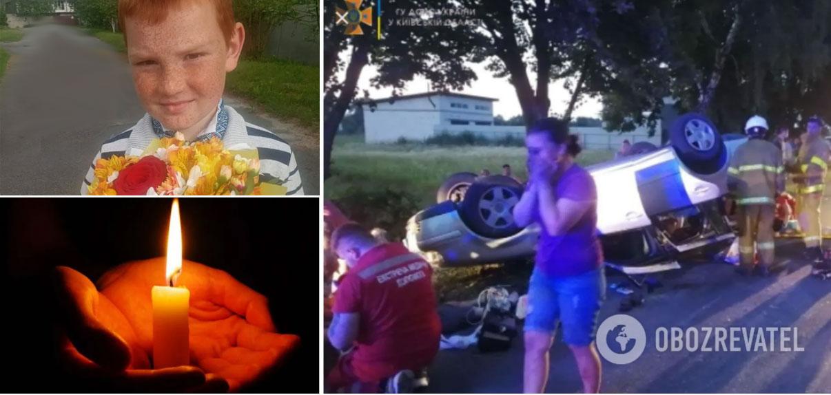 «Везли в багажнике евробляхи 7 детей»: подробности фатального ДТП под Киевом