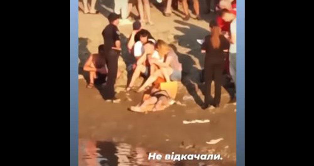На очах усього пляжу у Франківську в річці втопилася дівчина-підліток