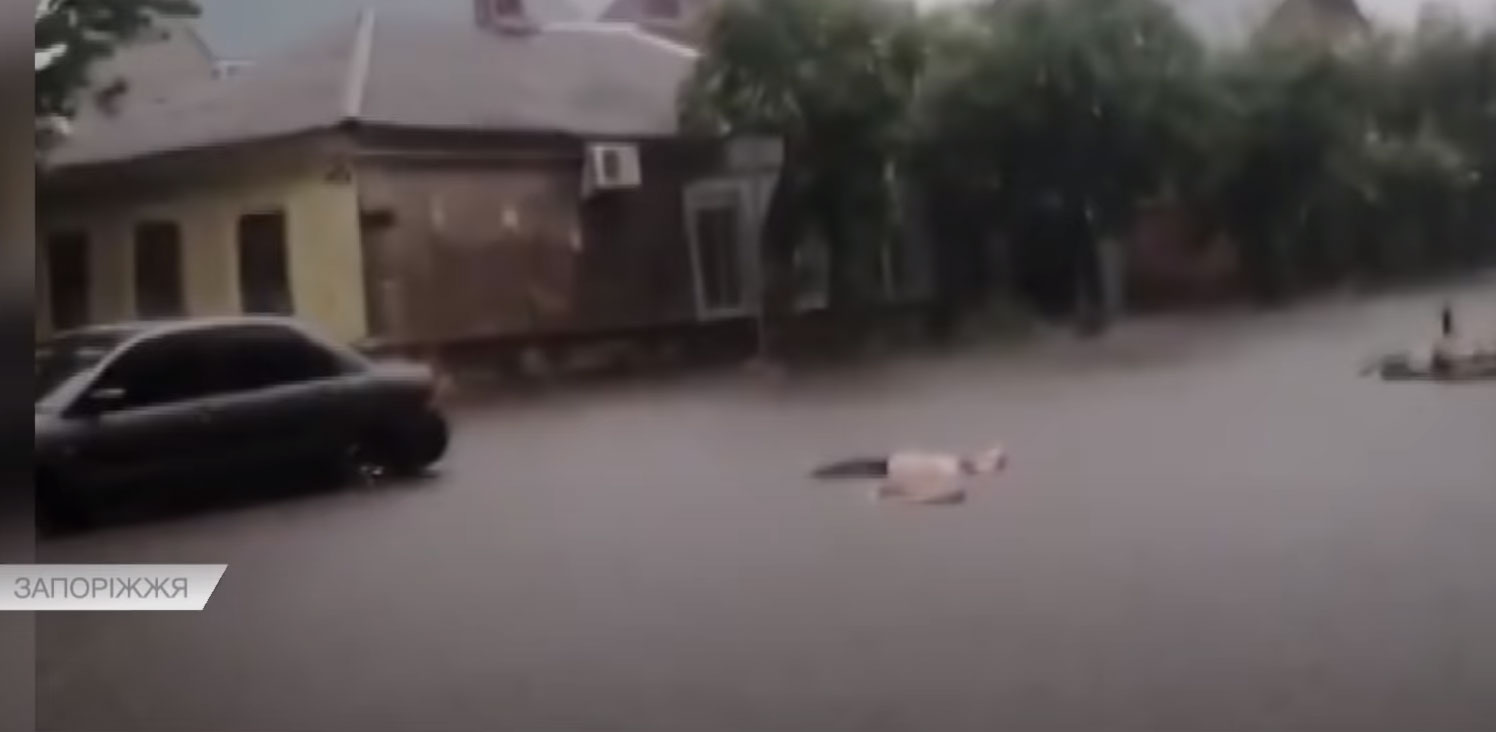 Тіла плавали 3 години: у Бердянську струмом вбило двох людей (відео)