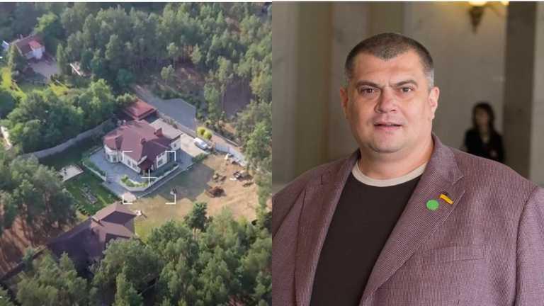 Триває «велике будівництво» маєтку «Слуги народу» Юзіка, вартістю 400 тисяч доларів