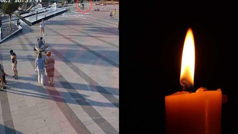 В Днепре скончался ребенок, который напоролся на штырь в фонтане. Видео