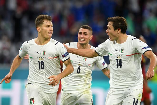 Италия — Испания когда и где смотреть трансляцию матча 1/2 финала Евро-2020