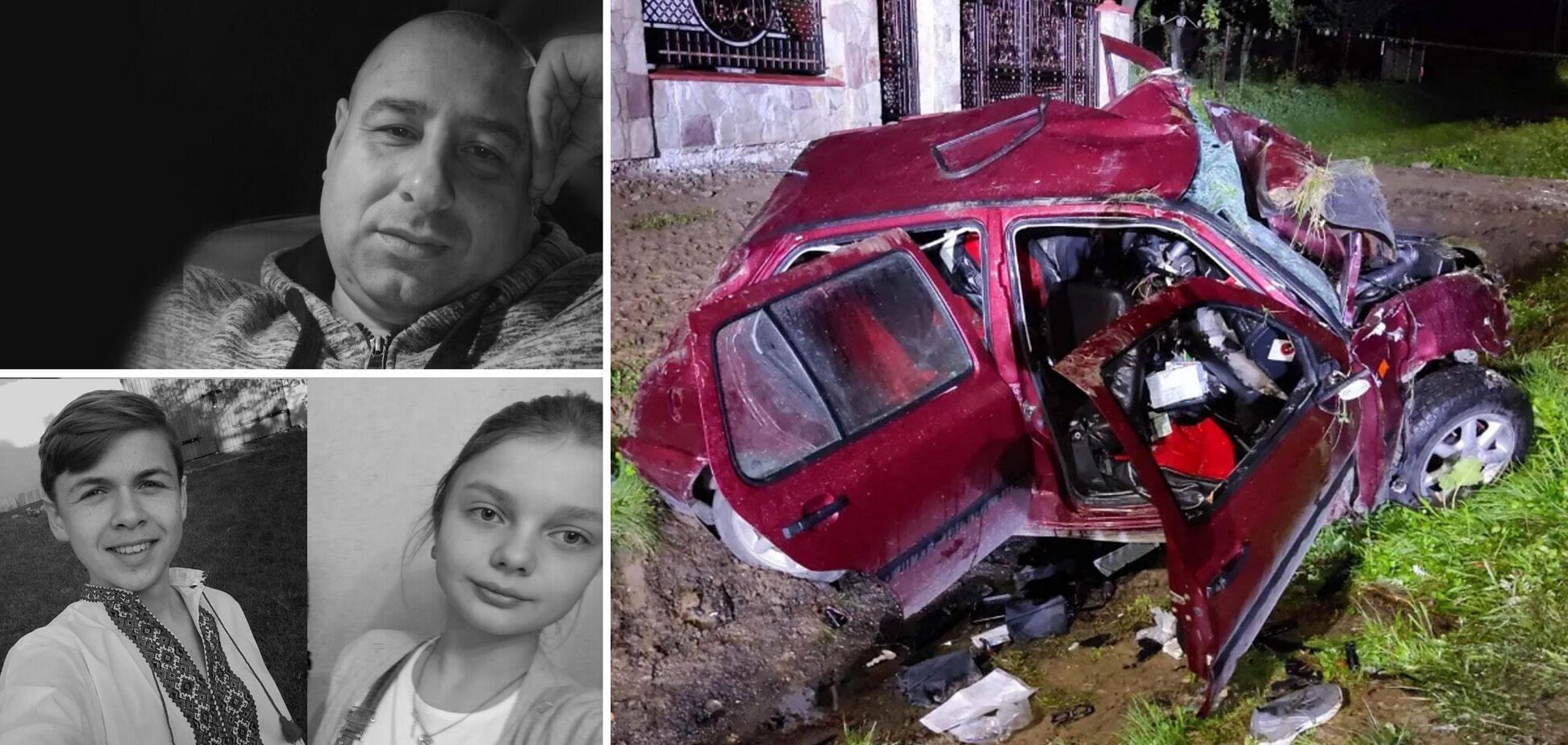 19-летний пьяница без прав лишил жизни троих людей на Львовщине в ДТП