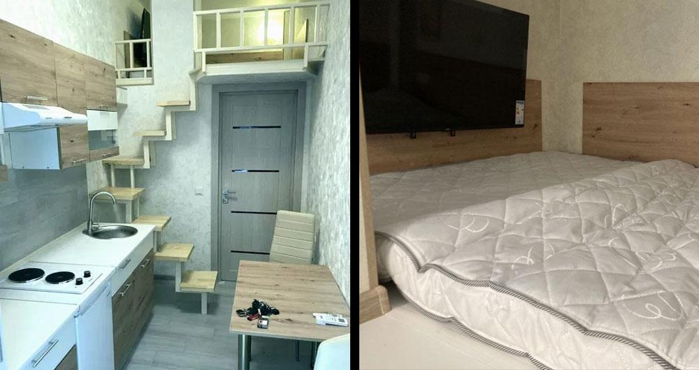 В Киеве продают квартиру-«кладовку» за 33 тыс. долларов. «Дно смарт квартир»