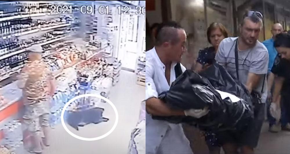 В Николаеве мужчина расстрелял собаку посреди магазина. Видео