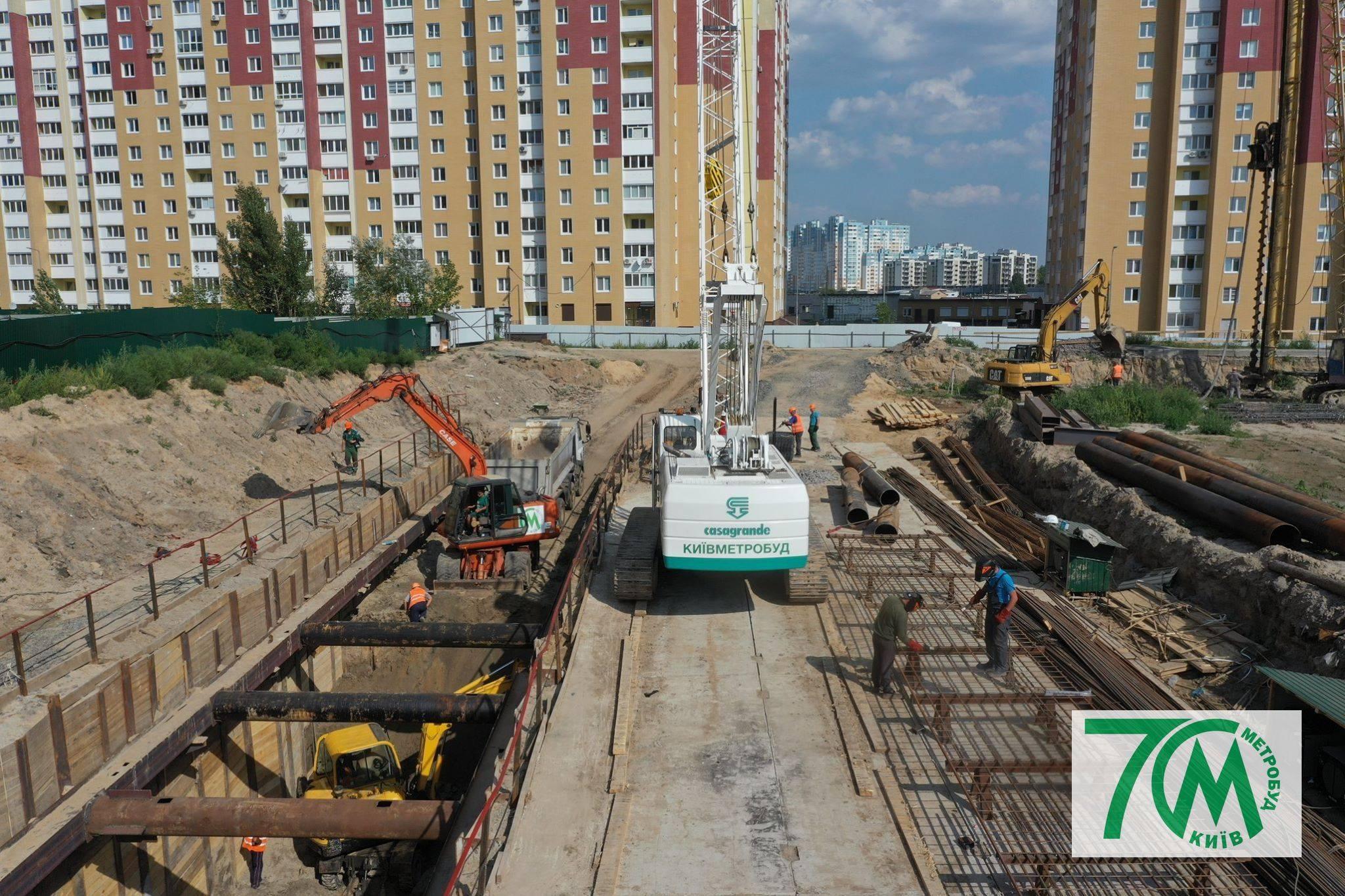 Из-за воровства в Киеве на два года переносят дату открытия 2 новых станций метро
