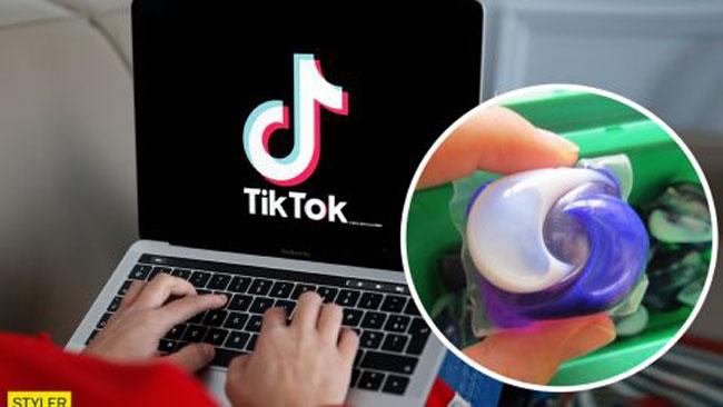 Опасный челлендж в TikTok: подростки глотают капсулы с моющими средствами