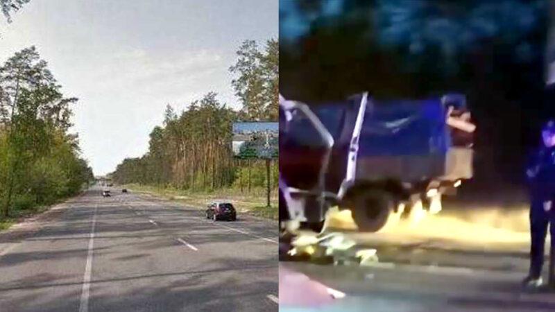 На Гостомельском шоссе произошло смертельное ДТП. Видео